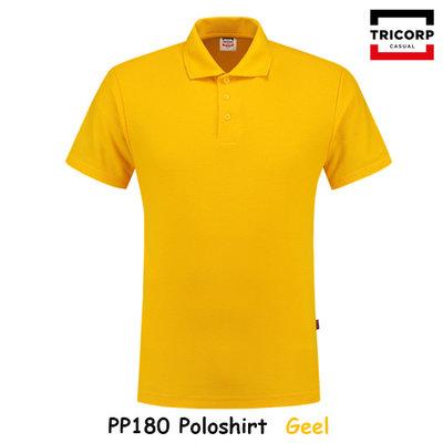 Poloshirt, pique polyester-katoen