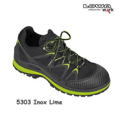 Inox work GTX Lime LO S3