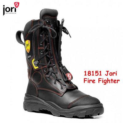 Fire Proof Brandweerlaars  met zaagprotectie