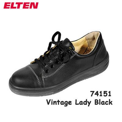 Vintage Lady Black Low ESD S3