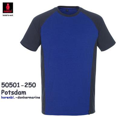 Potsdam  T-shirt  tweekleurig