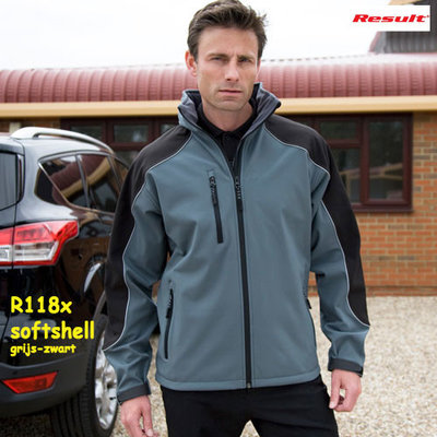 Result Ice Hooded  Soft Shell jack