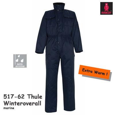Winteroverall Thule  517-062  marineblauw