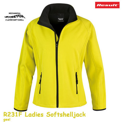 Result Womens printable softshelljack  R231F
