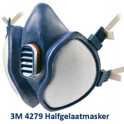 3M 4279 FFA1B1E1K1-P3 R D halfgelaatsmasker
