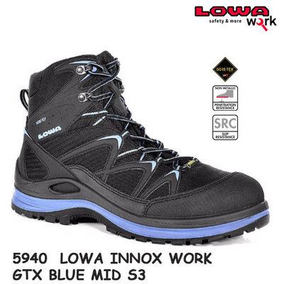 5940 LOWA INNOX WORK GTX BLUE MID S3