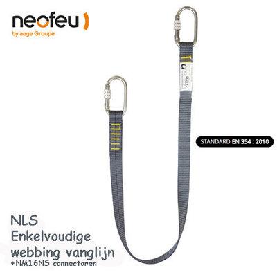 Neofeu NLS enkelvoudige Webbing  vanglijn