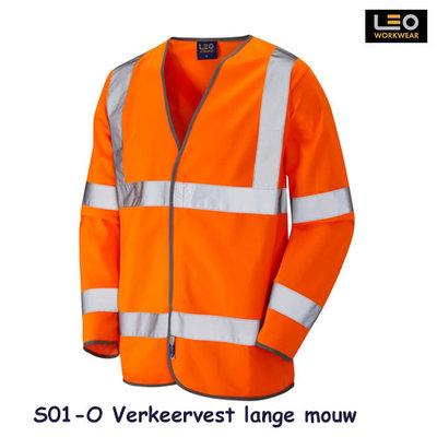 Verkeersvest, lange mouw   ISO 20471