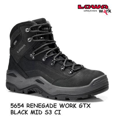 Lowa Renegade work Mid S3 CI