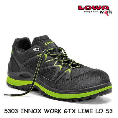 LOW  5303  INNOX WORK GTX LIME LO S3